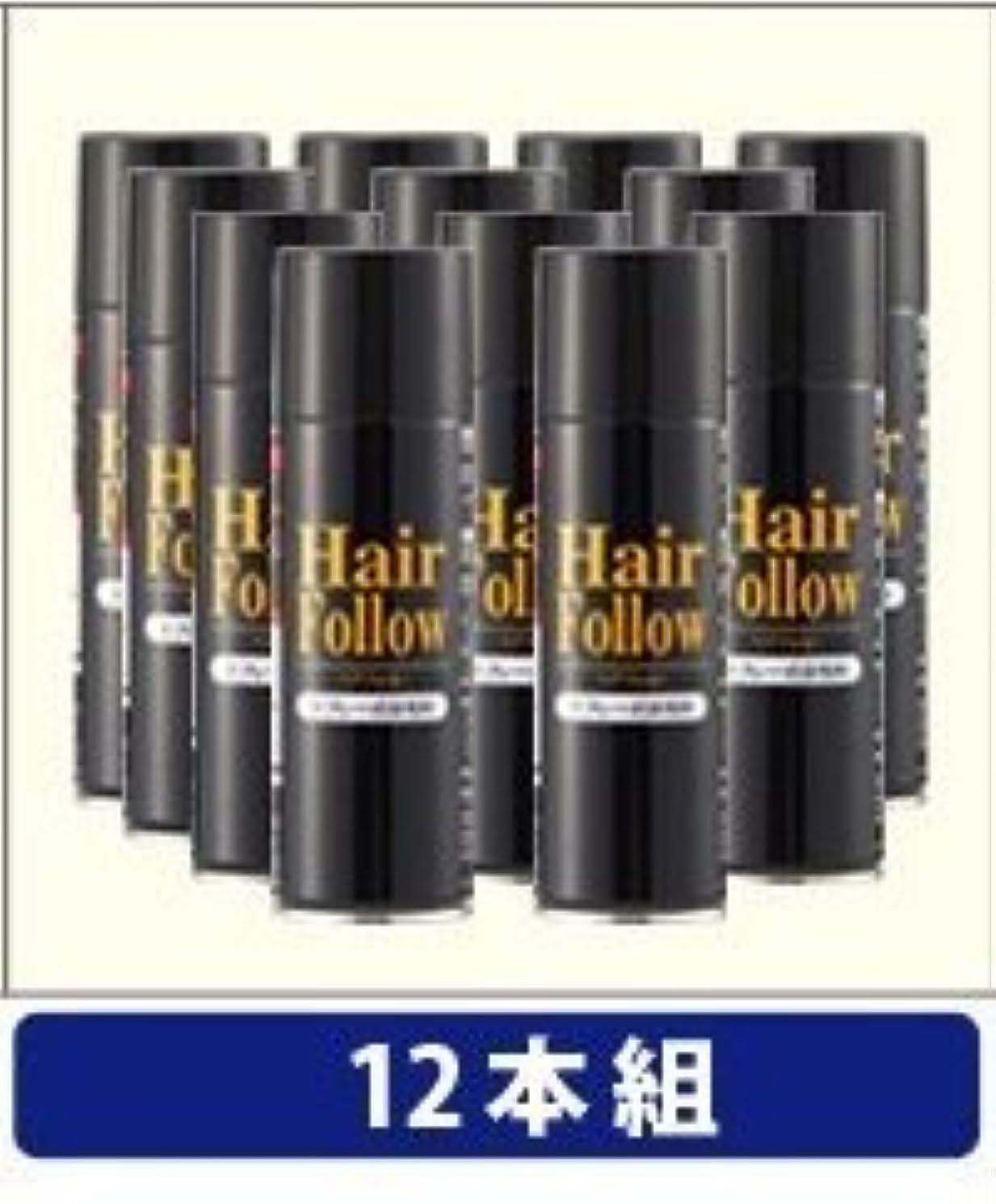 バブルレール味NEW ヘアフォロー スプレー ブラック スプレー式染毛料 自然に薄毛をボリュームアップ!薄毛隠し かつら (12本)