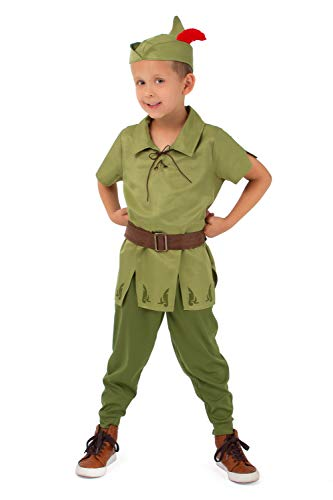 Little Adventures Child Peter Pan Costume (Large Age 5-7)