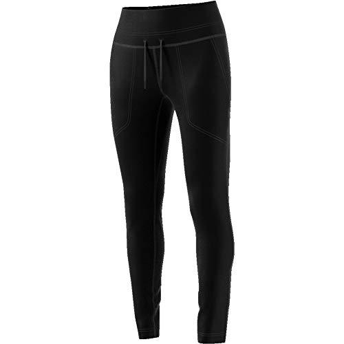adidas Damen VRCT Pant Traininghhose, Black/White, S