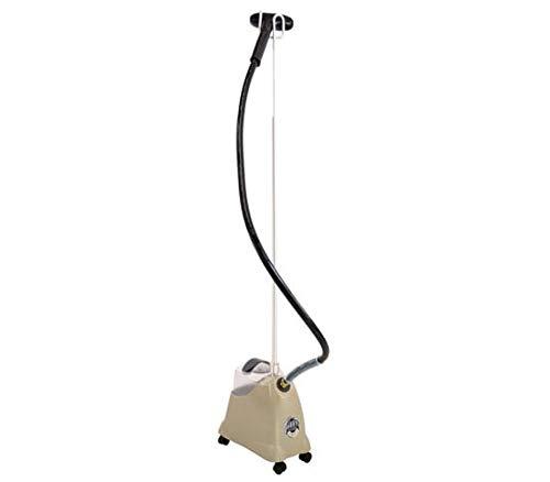 JIFFY STEAMER J-2000 - Plancha compacta, Ideal para el hogar, con mas de una Hora de Vapor Continuo, manipulo de policarbonato.