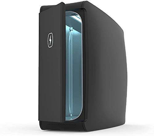 HomeSoap UV Sanitizer   Patented & Clinically Proven 360 Degree UV Light Disinfector   (Black)