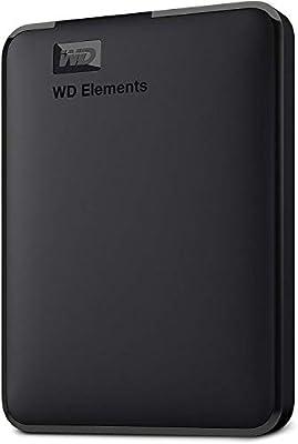 WD 1 TB Elements Portable External Hard Drive - USB 3.0, Black