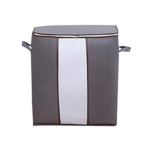 Bolsa de almacenamiento de ropa Oxford de gran capacidad, plegable, organizador para el hogar para mantas, edredón, ropa de cama con cremallera resistente