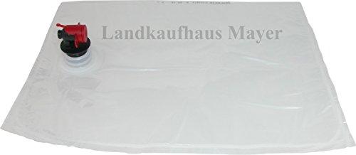 Landkaufhaus Mayer Bag in Box Beutel 3/5/10 Liter, Saftschläuche, Saftbeutel (25 x 5 Liter)