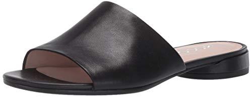 Ecco Damen WFLATSANDALII Pantoffeln, Schwarz (Black 1001), 36 EU