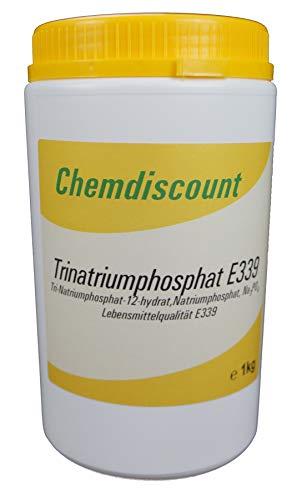 1kg Natriumphosphat (Trinatriumphosphat) Lebensmittelqualität E339, versandkostenfrei