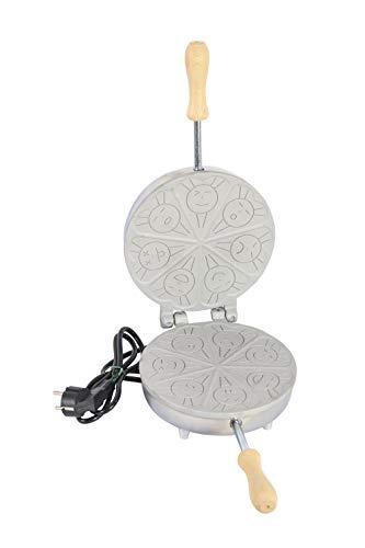 CBE Elettrodomestici 8015100 BISCOTTIERA ELETTRICA Rotonda, 600 W, Alluminio