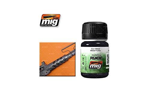 AMMO MIG-3009 Pigmentos 35 ml Pistola de Metal