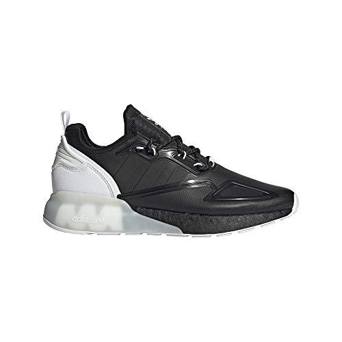 Zapatilla Hombre Adidas ZX 2K Boost Color Core Black Cloud White Talla 45 1/3