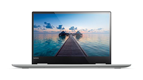 Lenovo YOGA 720 33,78cm (13,3 Zoll Full HD IPS Touch) Slim Convertible Laptop (Intel Core i7-7500U, 8GB RAM, 256GB SSD, Intel HD Grafik 620, Windows 10 Home) silber