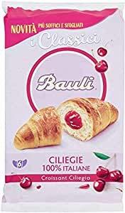 36x Bauli Cornetti Croissant brioche kekse kuchen mit kirsche 50g italien