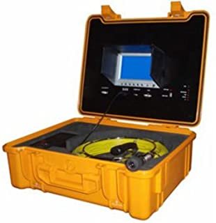FORBEST FB-PIC3188DN-130 Portable Color Sewer/Drain Camera, 130' Cable W/Heavy Duty Waterproof Case