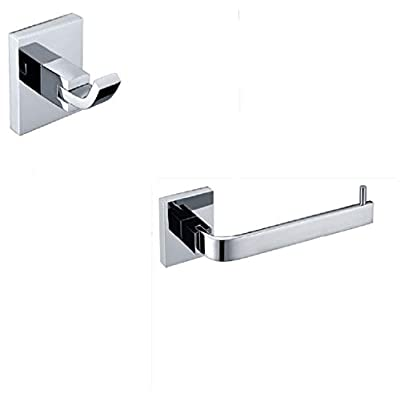 Amazon - 5% Off on  Bathroom Hardware Set Bathroom Accessory Set Brass Modern