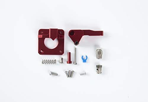 Accesorios para impresoras 13D,Kit de extrusor de impresora 3D, extrusor a la derecha de metal control remoto red extrusi estructura, ForCR-10S, Pro Extrusr actualizado