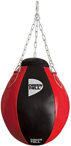 GREEN HILL Palla SOSPESA Sacco MONTANTI Boxe Wrecking Bag Ball Pelle