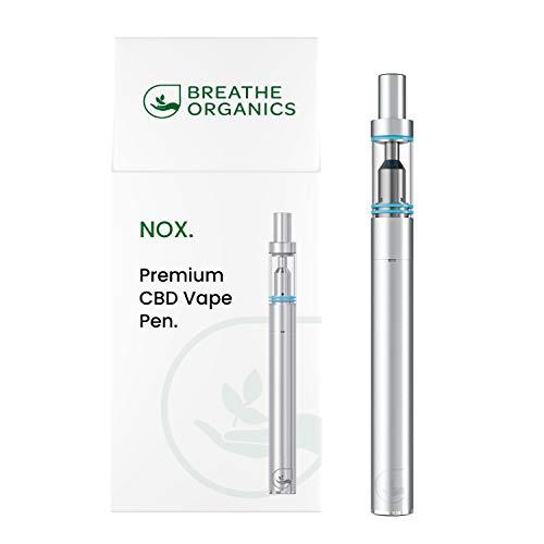 "CBD Vape Pen\""NOX\"" von Breathe Organics® | Deine leistungsstarke E-Zigarette für CBD Liquids und E Liquids | Hohe Akkuleistung 290 mAh, aufladbar, nachfüllbar | elegante E Cig & E Shisha"