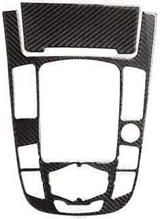 SSXD Decorazione in Fibra di Carbonio Vera Fibra di Carbonio Center Console del Cambio Coperchio del Pannello Telaio Trim for Audi A4 B8 A5 2009 2010-2016//2010-2018 Q5 Color Name : Part B 1
