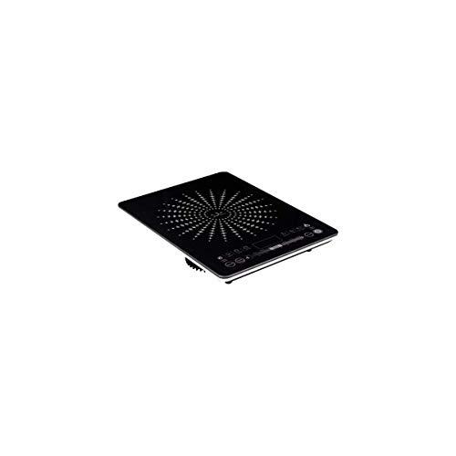 Jata VIN145 Cocina Eléctrica de Inducción Portátil con Placas de 12 a 26 cm de Diámetro 8 Funciones Pulsadores Táctiles Display LED Regulador Deslizante de Temperatura y Potencia 2100 W