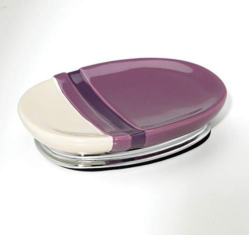 Popular Bath Chantelle Soap Dish, Purple