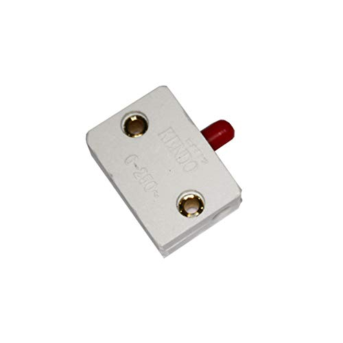 KENDO 45045 Interruptor Puerta Superficie 2A, 250 V Blanco, 33.65 X 24.05 X 10.25 Mm