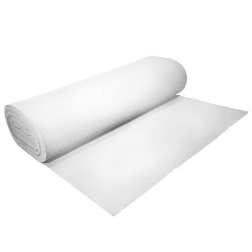 Acrylic Felt by The Yard 72' Wide X 1 YD Long: White