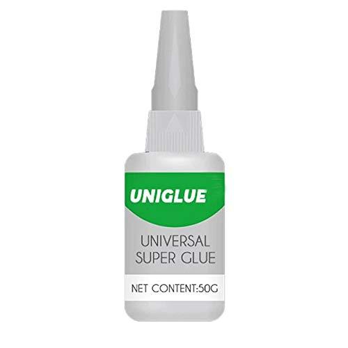 30ML / 50ML Uniglue Universal Super Glue pegamento resistente al agua fuerte para vidrio de metal de cerámica (5, 50ml)