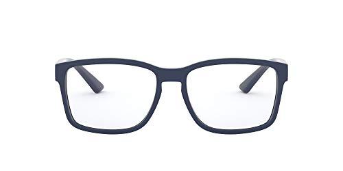 AN7177 - Marco cuadrado para gafas (55 mm), color azul mate