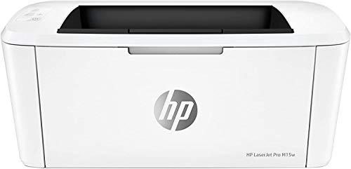 HP LaserJet M15w Stampante Laser Bianco e Nero,...