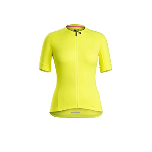Bontrager Anara LTD Damen Fahrrad Trikot kurz gelb 2021: Größe: XL (40/42)