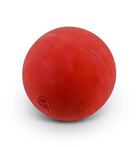 WV Original Schlagball für Leichtathletik und Schule - 80 Gramm - Gummi