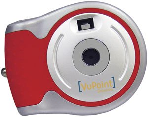 VUPOINT DC-ST15R-VP 3-in-1 Digital Camera ST15 Series (Red)