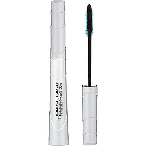 L Oréal Paris, Mascara Ciglia finte Telescopic, colore: Magnetic Black, 9 ml