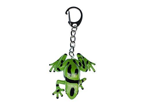 Miniblings Grenouille Grenouille Verte Porte-clé Porte-clés Noir - Bijoux Mode Main I I Pendentif Trousseau de clés Porte-Clef