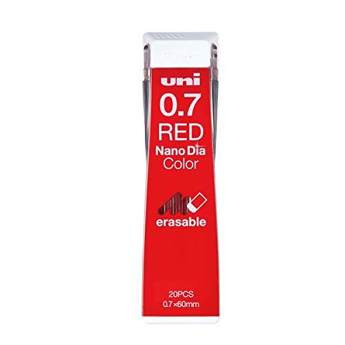 三菱鉛筆 ユニ ナノダイヤ カラー芯 0.7mm 赤 U07202NDC.15 3個セット