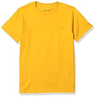 Champion Men's Classic Jersey T-Shirt, Team Gold, 3X Large