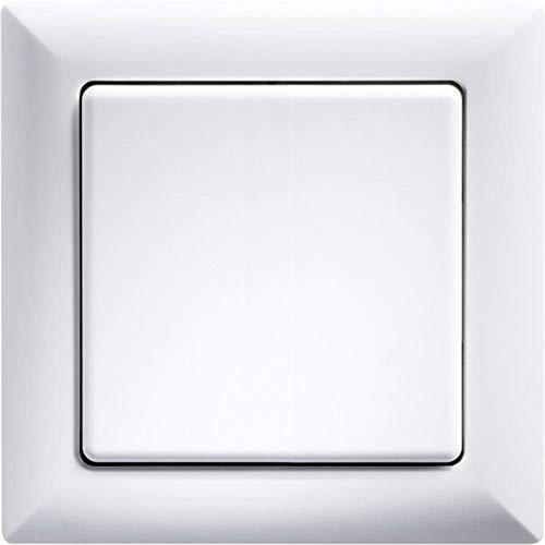Eltako FT55-wg draadloze knop wit glanzend met wip u