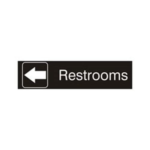 Bathroom sign with arrow Superhero Signage Solutions Wall Or Door Sign Amazoncom Amazoncom Signage Solutions Wall Or Door Sign