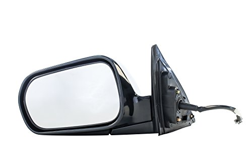 Dependable Direct Left Driver Side Unpainted Non-Heated Folding Power Operated Door Mirror for Honda Accord Sedan (4-Door Only) 1998 1999 2000 2001 2002 - HO1320125