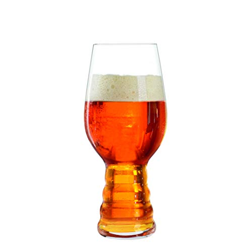 Spiegelau 4991382 Classic IPA Beer Glasses, Mugs and Steings & Cocktail Drinkware, Bar Cart, and Alcohol Accessory, Set of 4
