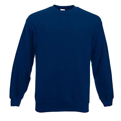 Fruit of the Loom - Sweatshirt \'Set-In\' XXL,Navy
