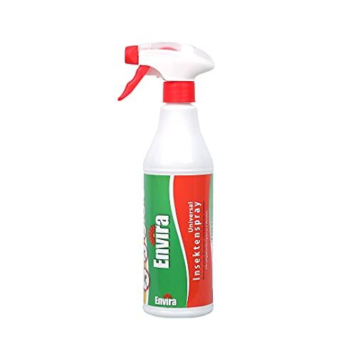 Envira Universal Insektenschutz - Hochwirksames Insekten-Spray Mit Langzeitschutz - Insektizid Auf Wasserbasis - 500 ml