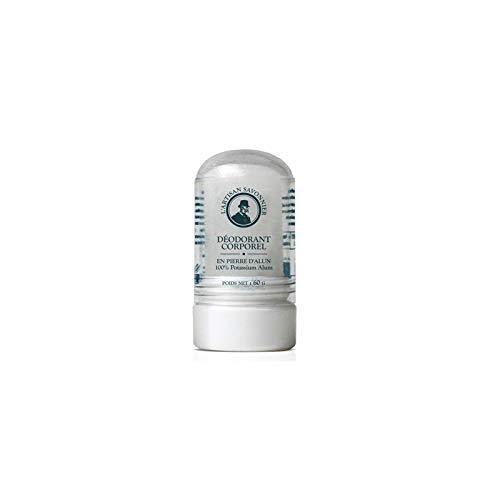 L'artisan savonnier Déodorant Corporel Pierre d'Alun 60 g