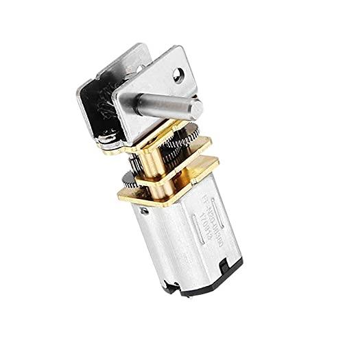 SupLucktar N20 DC6V engranaje Motor Encoder Reducción de velocidad Caja de cambios Reductor 10/30/55/100RPM Motor de reemplazo – 10RPM