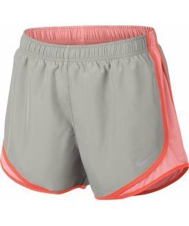 Nike Womens 3 Dry Tempo Running Shorts ( Pale Grey, X-Small )