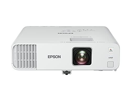 Epson EB-L200F - 3LCD Projektor - 4500 Lumen (weiß) - 4500 Lumen (Farbe) - Full HD (1920 x 1080) - 16:9 - 1080p - 802.11a/b/g/n Wireless / LAN / Miracast Wi-Fi Display - Weiß