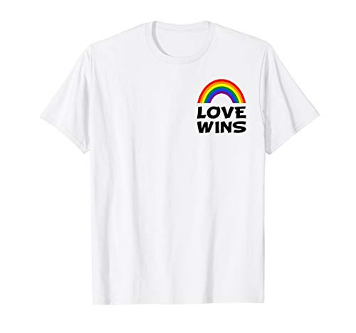CSD Shirt Gay Pride Love Wins Rainbow Shirt LGBT T-Shirt