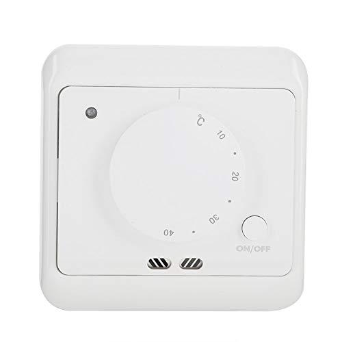 Cafopgrill Termostato de calefacción de Piso 16A 230V Controlador de Temperatura del Sensor de calefacción por Suelo Radiante