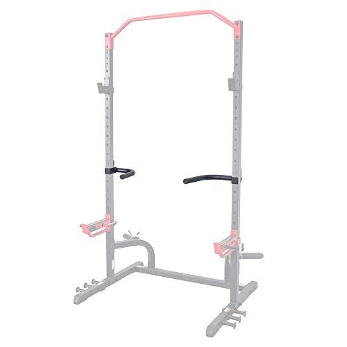 Sunny Health & Fitness Dip Bar Attachment for Power Racks