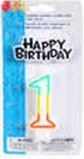 Greenbrier Birthday Candles (Number 1)