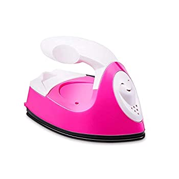 Mini Heat Press Machine Mini Electric Iron with Charging Base Accessories Portable Handy Heat Press Mini Iron for Clothes DIY T-Shirts Shoes Hats Small Heat Transfer Vinyl Projects  1 Pcs
